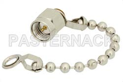 SMA Male Shorting Dust Cap With 2.5 Inch Chain