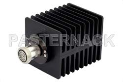 High Power 100 Watts RF Load Up To 2 GHz With 7/16 DIN Female Input Square Body Black Anodized Aluminum Heatsink