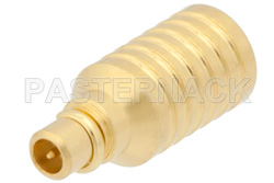 1 Watt RF Load Up to 6 GHz With MMCX Male Input Gold Plated Brass