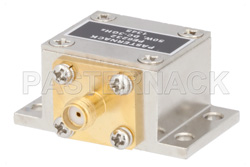 50 Watt RF Load Up to 3 GHz With SMA Female Input Square Body Nickel Plated Brass