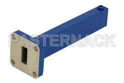 0.5 Watts Low Power Precision WR-42 Waveguide Load 18 GHz to 26.5 GHz, Aluminum