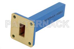 1.5 Watts Low Power Precision WR-62 Waveguide Load 12.4 GHz to 18 GHz