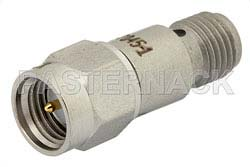 1 dB Fixed Attenuator, SMA Male to SMA Female Passivated Stainless Steel Body Rated to 2 Watts Up to 12.4 GHz