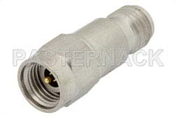 10 dB Fixed Attenuator, 2.92mm Male to 2.92mm Female Passivated Stainless Steel Body Rated to 0.5 Watts Up to 40 GHz
