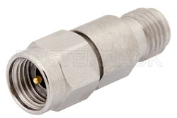 6 dB Fixed Attenuator, 2.92mm Male to 2.92mm Female Passivated Stainless Steel Body Rated to 1 Watt Up to 40 GHz