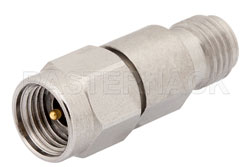 9 dB Fixed Attenuator, 2.92mm Male to 2.92mm Female Passivated Stainless Steel Body Rated to 1 Watt Up to 40 GHz