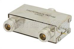 A/B Coaxial Electromechanical Relay Switch, DC to 1,000 MHz, 5W, 12V, N
