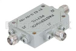 SMA SPDT PIN Diode Switch Operating From 4 GHz to 8 GHz Up To +30 dBm