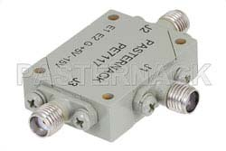 SMA SPDT PIN Diode Switch Operating From 12 GHz to 18 GHz Up To +27 dBm