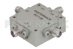 SMA Transfer PIN Diode Switch Operating From 12 GHz to 18 GHz Up To +27 dBm