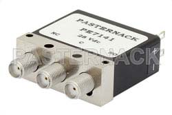 SPDT Electromechanical Relay Failsafe Switch, DC to 18 GHz, up to 85W, 28V, SMA