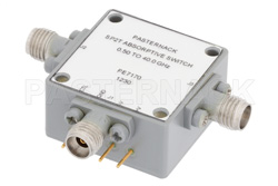 SPDT PIN Diode Switch Operating From 500 MHz to 40 GHz Up to +20 dBm and 2.92mm