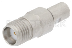 Precision SMA Female to SMP Male Limited Detent Adapter