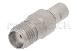 Precision SMA Female to SMP Male Full Detent Adapter