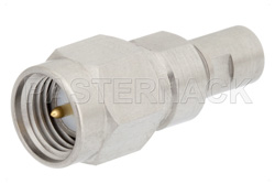 Precision SMA Male to SMP Male Full Detent Adapter