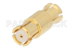 SMP Female to SMP Female Adapter, Up to 8 GHz, .370 inch Special Length