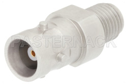 Precision SMA Female to ZMA Jack Adapter, 4 Lug