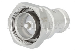 Low PIM 7/16 DIN Male to 4.1/9.5 Mini DIN Female Adapter