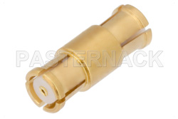 SMP Female to SMP Female Adapter, Up to 8 GHz, .374 inch Special Length