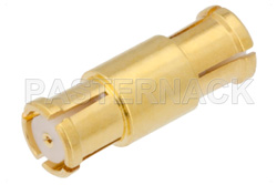 SMP Female to SMP Female Adapter, .377 inch Special Length