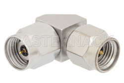 2.4mm Male to 2.92mm Male Right Angle Adapter