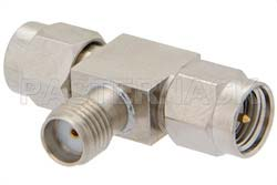 SMA Tee Adapter Male-Female-Male