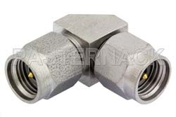 2.92mm Male to 2.92mm Male Right Angle Adapter