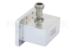 WR-187 CMR-187 Flange to N Female Waveguide to Coax Adapter Operating from 3.95 GHz to 5.85 GHz