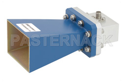 WR-137 Waveguide Standard Gain Horn Antenna Operating From 5.85 GHz to 8.2 GHz With a Nominal 10 dB Gain SMA Female Input