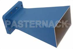 WR-159 Waveguide Standard Gain Horn Antenna Operating From 4.9 GHz to 7.05 GHz With a Nominal 10 dBi Gain With CMR-159 Flange