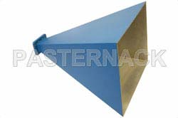 WR-159 Waveguide Standard Gain Horn Antenna Operating From 4.9 GHz to 7.05 GHz With a Nominal 20 dBi Gain With CMR-159 Flange
