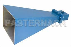 WR-229 Waveguide Standard Gain Horn Antenna Operating From 3.3 GHz to 4.9 GHz With a Nominal 15 dB Gain SMA Female Input