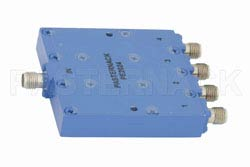 4 Way SMA Power Divider From 12 GHz to 18 GHz Rated at 30 Watts(图2)