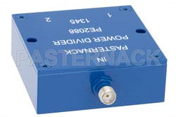 2 Way SMA Wilkinson Power Divider From 690 MHz to 2.7 GHz Rated at 10 Watts(图2)