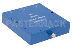 3 Way SMA Wilkinson Power Divider From 690 MHz to 2.7 GHz Rated at 10 Watts(图2)