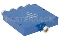 4 Way N Wilkinson Power Divider From 690 MHz to 2.7 GHz Rated at 10 Watts(图2)