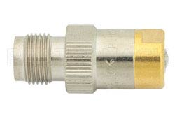 50 Ohm 0.5 Watts Nickel Plated Brass TNC Female RF Load Up To 1,000 MHz(图2)