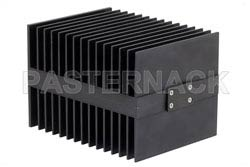 High Power 100 Watt RF Load Up To 2 GHz With BNC Female Input Square Body Black Anodized Aluminum Heatsink(图2)