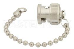 BNC Male Shorting Dust Cap With 4 Inch Chain(图2)