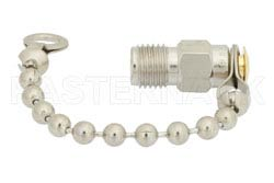 SMA Female Shorting Dust Cap With 2.5 Inch Chain(图2)