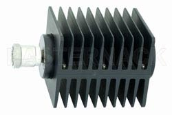 High Power 100 Watts RF Load Up To 2 GHz With 7/16 DIN Female Input Square Body Black Anodized Aluminum Heatsink(图2)