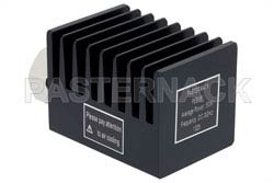 50 Watt RF Load Up to 3 GHz With 7/16 DIN Male Input Square Body Black Anodized Aluminum Heatsink(图2)