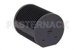 25 Watt RF Load Up To 18 GHz With N Male Input Round Body Black Anodized Aluminum Heatsink(图2)