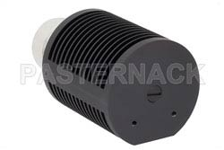 25 Watt RF Load Up To 8 GHz With 7/16 DIN Male Input Round Body Black Anodized Aluminum Heatsink(图2)
