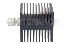 Medium Power 50 Watts RF Load Up To 18 GHz With N Male Input Square Body Black Anodized Aluminum Heatsink(图2)