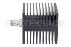Medium Power 50 Watts RF Load Up To 18 GHz With N Female Input Square Body Black Anodized Aluminum Heatsink(图2)