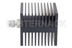 Medium Power 50 Watts RF Load Up To 18 GHz With TNC Male Input Square Body Black Anodized Aluminum Heatsink(图2)