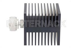 Medium Power 50 Watts RF Load Up To 8 GHz With 7/16 DIN Male Input Square Body Black Anodized Aluminum Heatsink(图2)