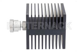 Medium Power 50 Watts RF Load Up To 8 GHz With 7/16 DIN Female Input Square Body Black Anodized Aluminum Heatsink(图2)