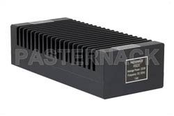 High Power 200 Watt RF Load Up to 3 GHz With N Male Input High Power Black Anodized Aluminum Heatsink(图2)